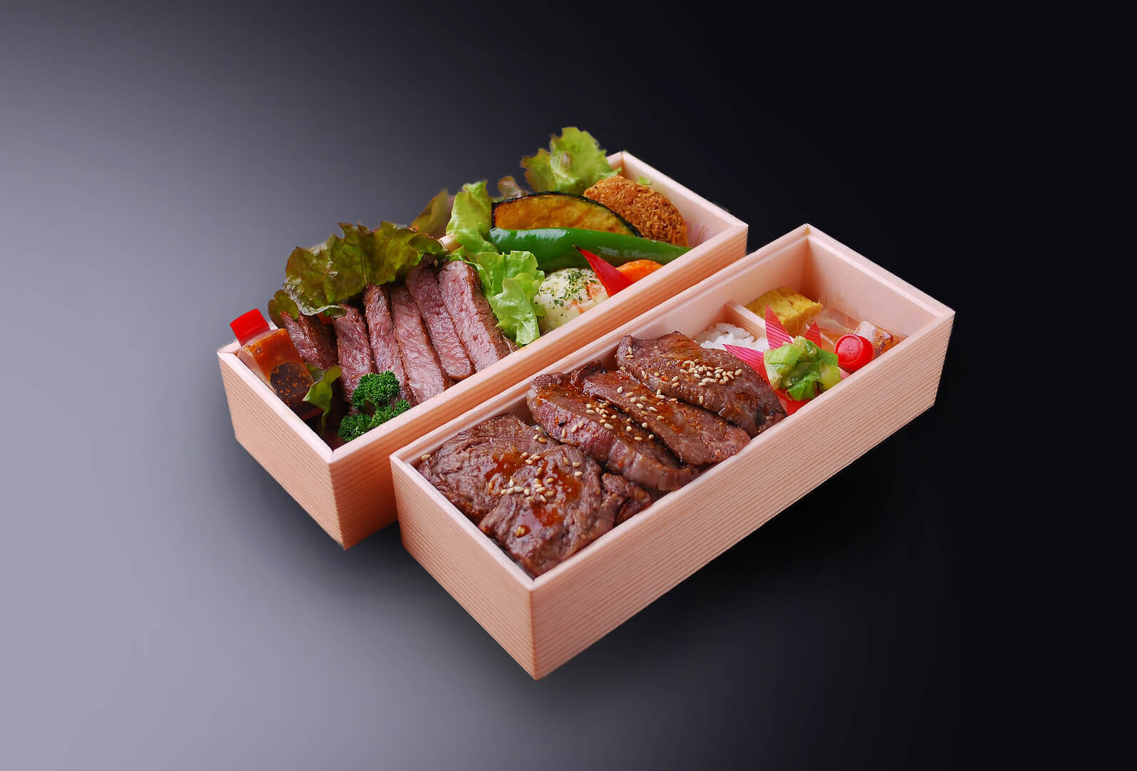焼肉&ステーキ弁当